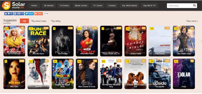 Solar Movies Website