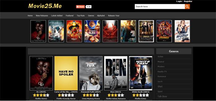 Movie25 Website