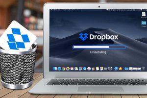 Dropbox from Mac