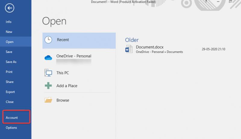 Update Microsoft Office apps