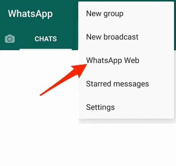 Fix WhatsApp Web Not Working